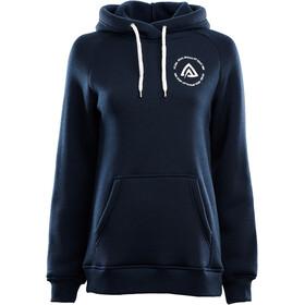 Aclima WoolFleece Hoodie Dame navy blazer